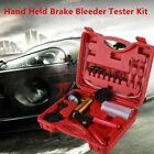 Hand Held Vacuum Pump Tester Brake Bleeder Kits For Car Suv W Adapter Gauge Box