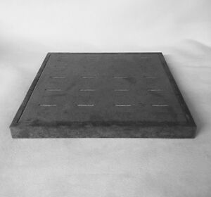 Jewellery Display Ring Trays x 3 (Ash Grey) *Made in the UK*