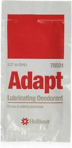 Hollister Adapt Lubricating Deoderant .27oz/pack  54 packs