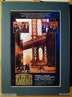 alte Reklame Druck Passepartouts 80er Once upon a time in America 36x26 cm 863
