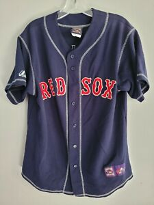VTG Majestic Boston Red Sox Ted Williams 9 Cooperstown Throwback Jersey Mens M
