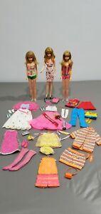 LARGE Vintage Barbie's Cousin, FRANCIE, w/ Clothing & Accessories Lot! EUC!