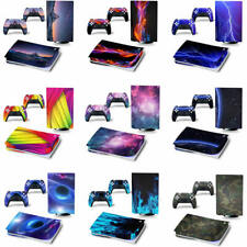 Vinyl Skin Sticker Decals Wrap For Playstation PS5 Console &2 Controllers (Disc)
