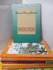 MISERICORDIA- BENITO PEREZ GALDOS Spanish Literature Libros en Espanol