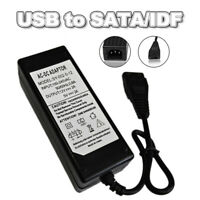 12V-5V AC USB zu IDE/SATA-Adapter Netzteil für Hard Disk Drive HDD CD-ROM XY