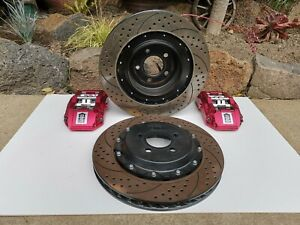 Chrysler 300c Sedan '04-'10 rear big brake kit. 6 piston calipers.