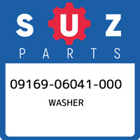 09169-06041-000 Suzuki Washer 0916906041000, New Genuine OEM Part