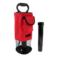 Golf Shag Bag -65 Balls Pocket Pick Up Ball Storage Collector Retriever