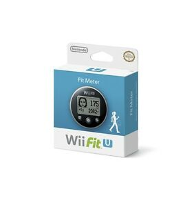 NEW Nintendo Fit Meter Nintendo Wii U Black Silver Wii Fit U