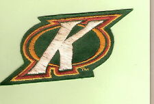 """#D96.  RUGBY LEAGUE PATCH - """"K"""", AUSTRALIAN KANGAROOS, STAINS"""