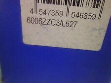 NTN 6006ZZC3/EM 6006ZZC3/L627 SINGLE ROW SHIELDED RADIAL BALL BEARING #J53236