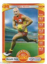 2014 Teamcoach 3D Best & Fairest (08) Gary ABLETT Gold Coast