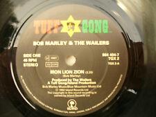 BOB MARLEY IRON LION ZION /  SMILE JAMAICA tuff gong tgx2 ..........45rpm single