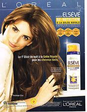 PUBLICITE ADVERTISING  2009   PENELOPE CRUZ   pour l' OREAL
