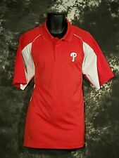 Men's Red Polo Shirt Extra Large XL Philadelphia Phillies