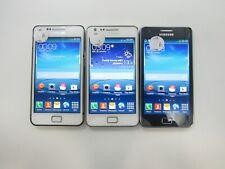Lot of 3 Samsung Galaxy S II Plus GT-I9105P Unknown Carrier Grades B/C 6-289