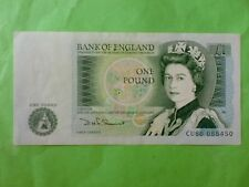 England 1 Pound 1981 - 1984 QEII (aUNC), Great Britian, 3pcs Running Number