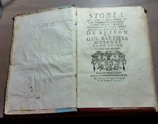 """Libro """"STORIA DELL'UOMO E DEGLI ANIMALI AD ESSO SOGGETTI....."""" Fermo MDCCLXXXIV"""