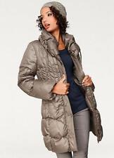 Cálido abrigo acolchado pero ligero palangre con cuello de gran tamaño 18 (ajustada)