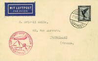 Luftschiff Graf Zeppelin 24.3.1929, Orientfahrt. Sehr gute Erhaltung