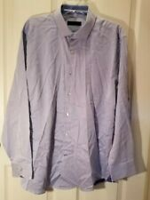 Andrew Fezza Men's Button-Front Dress Long Sleeve Shirt:Slim Size XL EXCELLENT
