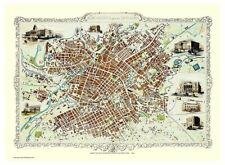 History Portal Manchester 1851 John Tallis 1000 Piece Jigsaw 690mm x 480mm (jg)