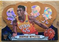 2017-18 CROWN ROYALE ICE DONOVAN MITCHELL ROOKIE RC #167 92/99 🔥 JAZZ 🔥 SP