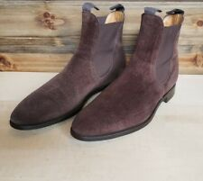 Edward Green Suede Newmarket Boots Size 9D (8.5E UK)