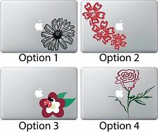 Flower Daisy Decal Sticker Apple Mac Book Air/Pro Dell Laptop Rose Ladybug