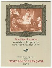 CARNET N° 1962 **  FRANCE CROIX ROUGE 1962