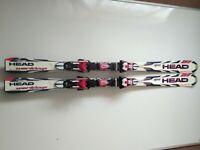 Head Liquid Metal World Cup Skis 150cm With Bindings Winter Sports Skiing
