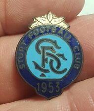 1953 STURT South Australia Enamel Football Club Badge -