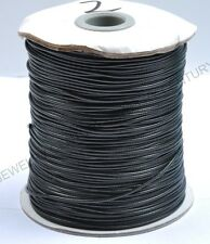 5Yards Black Nylon Chinese Knotting Cord Bead Jewelry 1.5MM