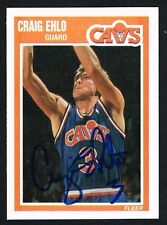Craig Ehlo #26 signed autograph auto 1989-90 Fleer Basketball Trading Card