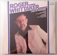 roger whittaker LIVE IN CONCERT      LP VINYL sealed corner dings