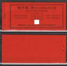 Deutsches Reich: MH 45 ** postfrisch, Markenheftchen 1938, Deckel gefaltet[13999