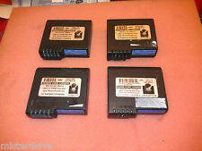 Lot of 4 batteries for DS WalkAbout Hammerhead Xtreme Tablets Used good deal