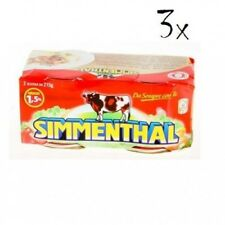 6x SIMMENTHAL beef meat in aspic 2x 215g 100% Italian meat