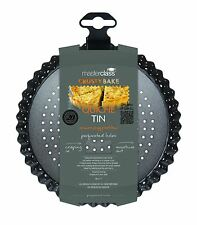 Kitchen Craft Master Class 18x3cm Crusty Bake Scanalati ROUND Flan Quiche Tin