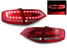 DEPO Real OEM RS4 Look LED Red/Clear 4PCS Tail Light 09-12 Audi A4 B8 4D Sedan