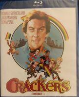 Crackers (Blu Ray 1984) Donald Sutherland Sean Penn KL Studio Classics NEW fr/sh