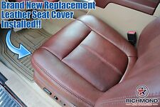 2011 Ford F250 F350 King Ranch-Driver Side Bottom Replacement Leather Seat Cover