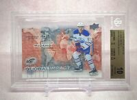 2015-16 Upper Deck Ice Global Impact Rookie RC Connor McDavid Pristine BGS 10