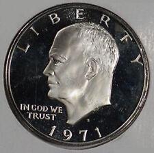 1971-S Eisenhower Dollar 40% Silver - US Mint Proof Brown Box