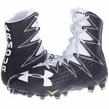 Under Armour Highlight MC Men's Shoes Sz 12 Football Cleats Black/White 1269693