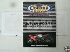2006 SILVERSTONE CORONA EXTRA SUPERBIKE WORLD CHAMPIONSHIP MINI BOOK FOGGY PETRO