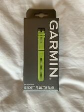Genuine Garmin Quickfit 26 Watch Band Strap Amp Yellow Silicone