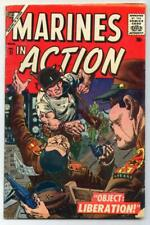 Marines in Action #11 (Ross Andru) Silver Age-Atlas Comics VG   {Generations}