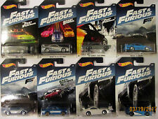 Hot Wheels 2017 Fast & Furious Complete 8 Car Walmart Exclusive Set