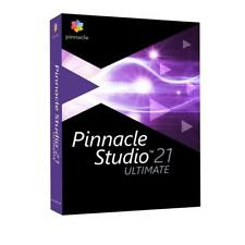 Pinnacle Studio 21 Ultimate Video Editing Suite for PC
